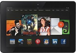 "Kindle Fire HDX 16GB 7"" Tablet + $25 Staples Gift Card"
