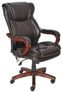 Lane Big & Tall Leather Executive Massage Chair