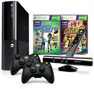 Xbox 360 4GB Console w/ Kinect Holiday Bundle