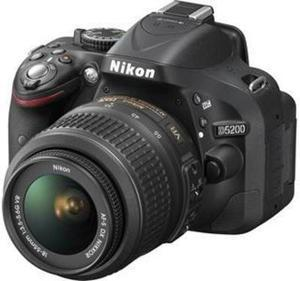 Nikon D3200 24MP DSLR Digital Camera w/ 18-55mm VR Lens & 55-200 DX Lens