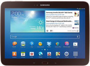 "Samsung 16GB 10"" Galaxy Tab 3 - Brown"