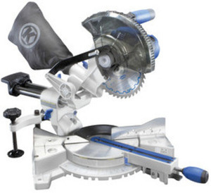 Kobalt 7-1/4-in 9-Amp Sliding Compound Laser Miter Saw