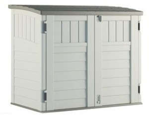 Suncast Resin Horizontal Outdoor Storage Unit