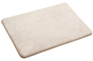 "allen + roth 17"" x 24"" Microfiber Bath Mat (Various Colors)"