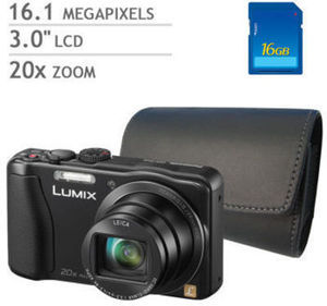 Panasonic LUMIX ZS25 Digital Camera Bundle