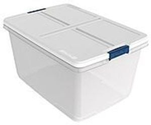 Hefty 66-qt. Clear Latch Storage