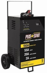 Plus Start Manual Wheeled Battery Charger and Engine Starter