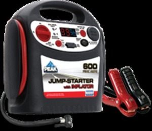 600 Peak Amp Jumpstarter w/ Inflator