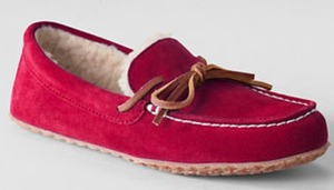 Women's Suede Moc Slippers - 12/2 1pm EST