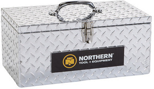 "Northern Tool 20"" Aluminum Tote Storage Box"