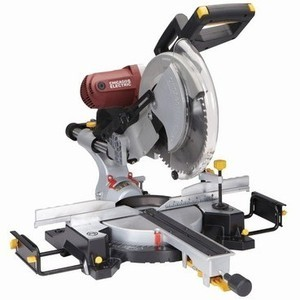 "Chicago Electric 12"" Sliding Compound Double-Bevel Saw with Laser Guide"