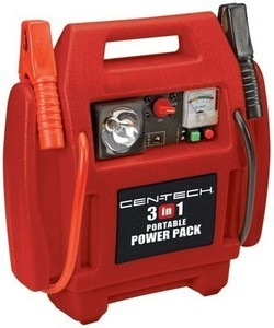Centech 3-in-1 Portable Power Pack