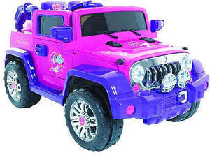 Dynacraft 6V My Little Pony Light-Up 4x4 Ride-On