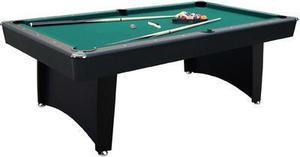 Fulton 7.5 ft. Billiard Table w/ Bonus Cue Rack