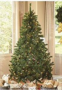 Home Accents 7-Ft Prelit Tree