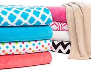 Home Accents Super Plush Throws