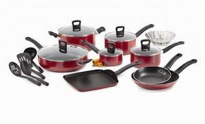 T-Fal 18PC Banquet Nonstick Cookware Set (After Rebate)