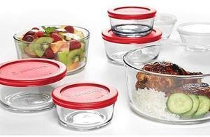 Anchor Hocking 16-Piece Glass Kitchen Storage Set