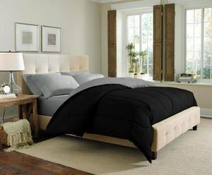 Cannon Printed or Solid Reversible Comforters (Twin/Twin XL)