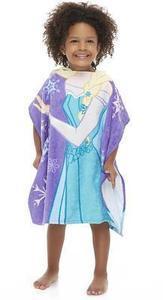 Disney Frozen Girl's Hooded Towel Poncho - Elsa
