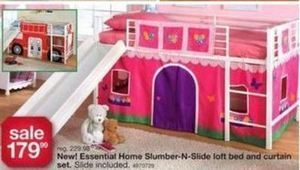 Slumber and Slide Loft Bed