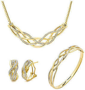 1/4ct Diamond Fashion 3pc Set