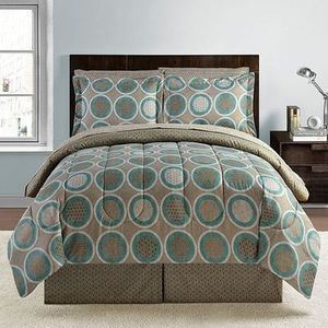 8 Piece Bed Ensembles Set