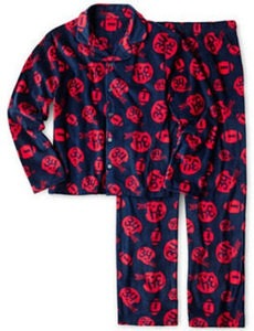 Arizona Boys' 2-Pc. Football Pajama Set