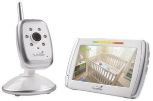 "Summer Infant 5"" Wide View Digital Color Video Monitor"
