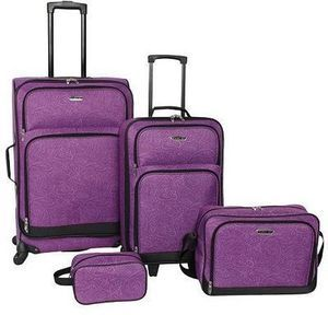 Prodigy Avenue 4PC Spinner Luggage Set