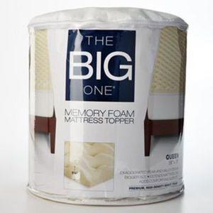 The Big One Gel Memory Foam Mattress Topper (Any Size)