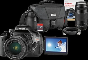 Canon Rebel T3i DSLR Camera Bundle