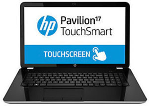 "HP Pavilion 17.3"" Touchsmart Laptop Computer w/ AMD A4 Processor, 4GB RAM, 750GB HDD"