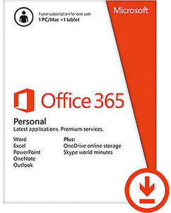 Microsoft Office 365 Personal and McAfee Internet Security