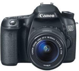 Canon 70D DSLR Bundle