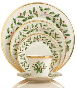 Lenox Dinnerware Holiday Collection