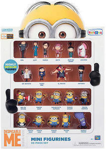 Despicable Me 20 Piece Minion Figures Set