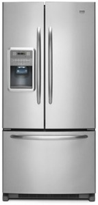 21.8 Cu Ft Stainless Steel French Door Refrigerator