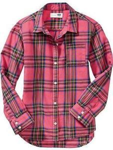 Girls' Button-Down Shirts