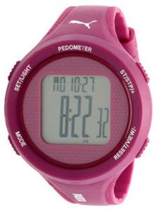Puma Women's Step Purple Pedometer Watch