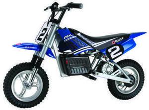 "Razor Kids' MX350 Dirt Rocket 12"" 1-Speed Electric Dirt Bike"