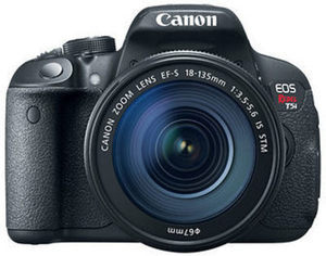 "Canon EOS Rebel T5i 18MP 3"" LCD Digital DSLR Camera Bundle"