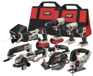 Porter-Cable 8-Tool 20-Volt MAX Lithium Ion Cordless Combo Kit