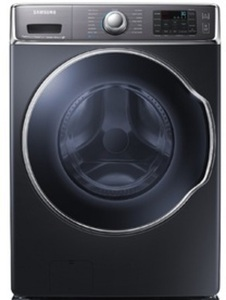 Samsung 5.6  cu. ft Washer & 9.5  cu. ft. Electric Dryer