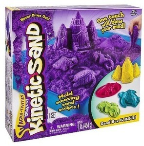 Wacky-tivities - Kinetic Sand - Sandbox & Molds