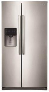 Samsung 24.5-cu ft Side-by-Side Refrigerator - RS25H5111SR