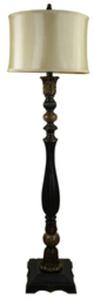Portfolio Barada 63-in Bronze Floor Lamp