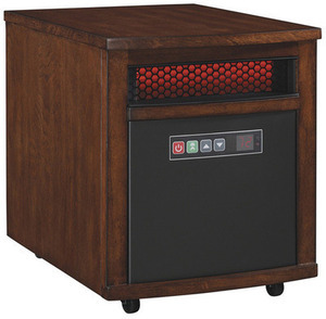 Duraflame Infrared Compact Personal Electric Space Heater with Thermostat