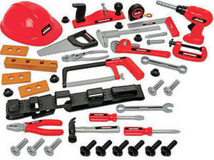 My First Craftsman 44 pc Tool Set with Helmet