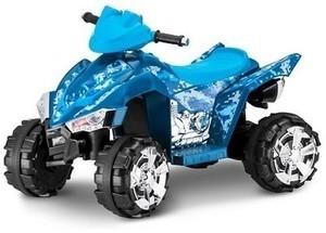 KTX Blue Camo 6V Quad Ride-On
